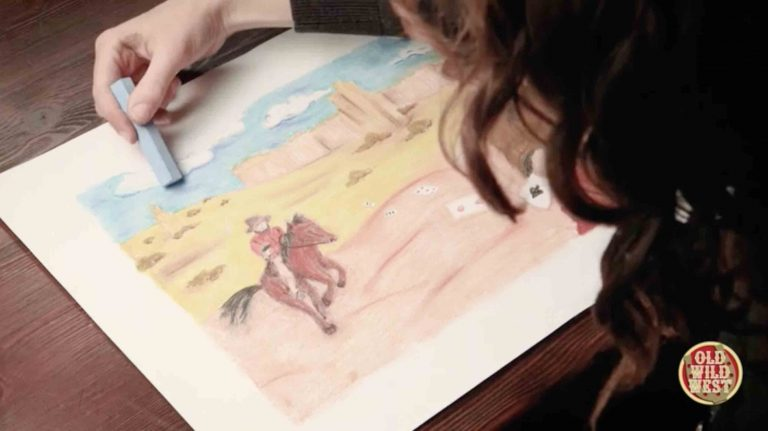 Learn to Draw – Old Wild West